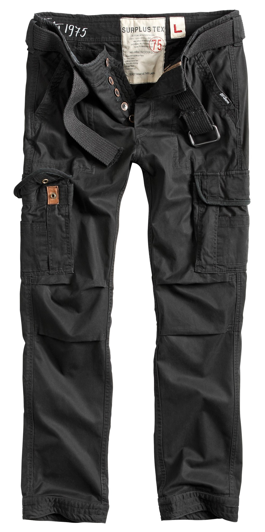 Штаны  Surplus Premium Slimmy (черные - black)