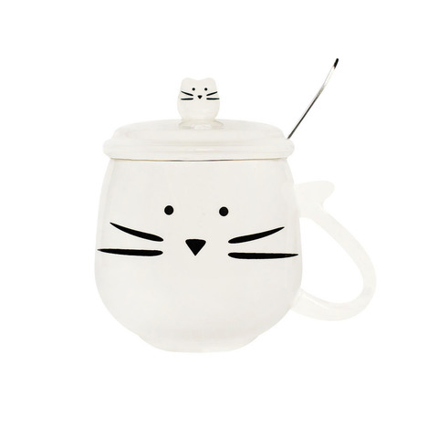 Кружка Kitten Cup White