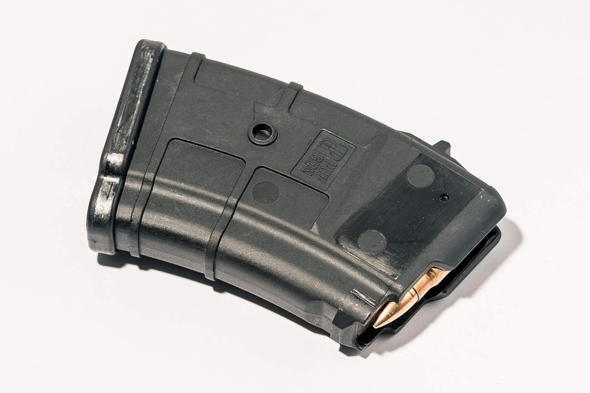 Магазин Pufgun для АКМ (7.62x39) ВПО-136 ВПО-209 на 10 Gen2, черный