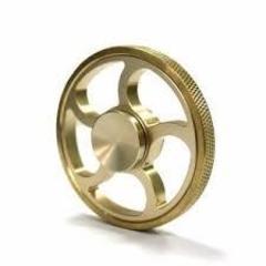 Fidget Spinner Sun gold