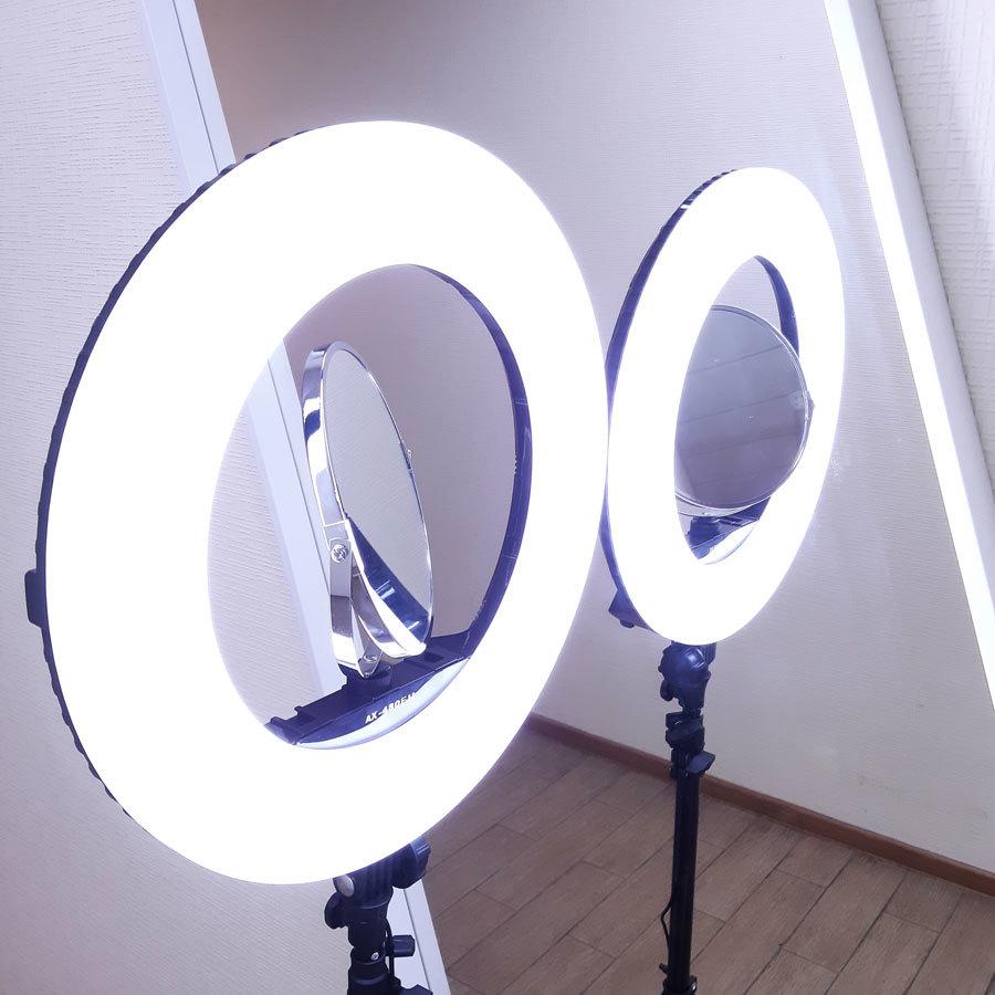 Кольцевая лампа LED RING AX480 E240 DU (45 см) фото