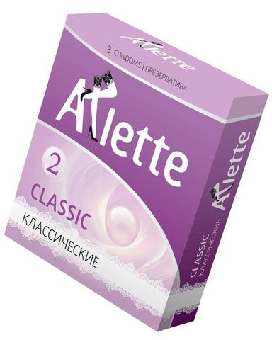 Классические презервативы Arlette Classic - 3 шт.