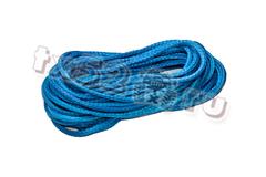 Синтетический трос 10 мм (синий, нагрузка - 10 000 кгс.) Цена за метр троса.