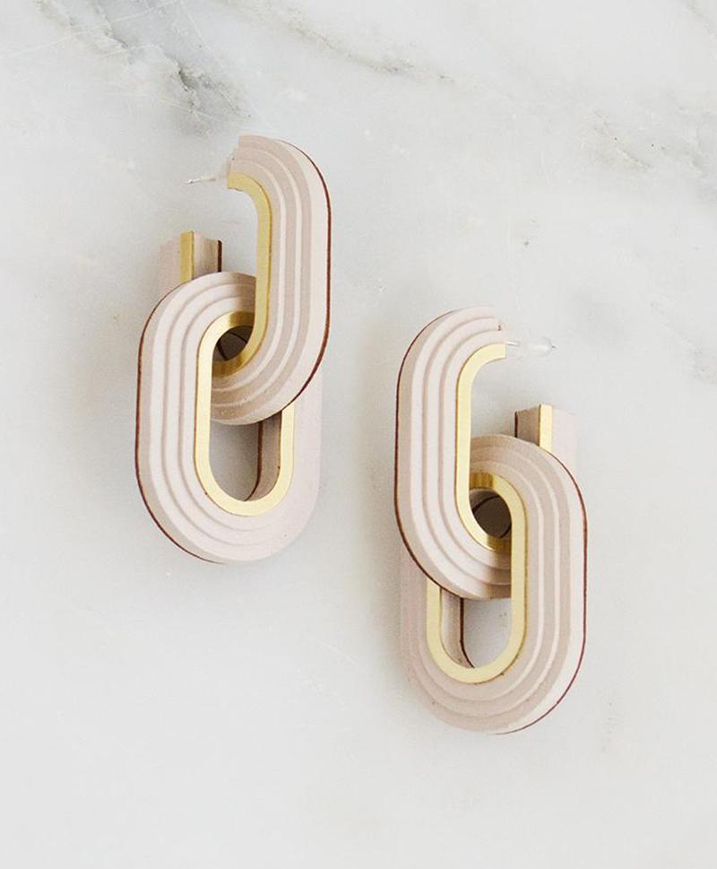Серьги Mirage Hoop Earrings