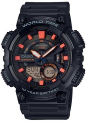 Мужские электронные часы Casio AEQ-110W-1A2