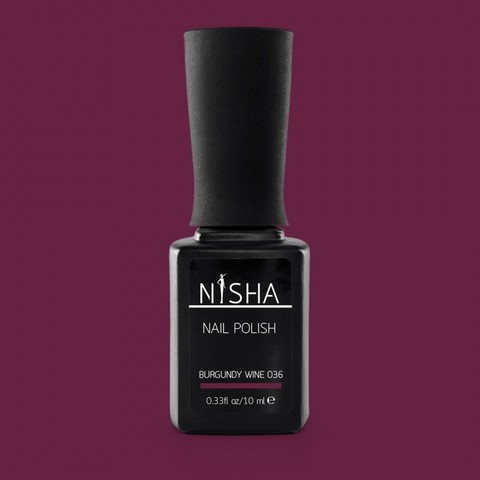 Гель-лак Nisha Burgundy Wine 036