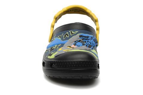 Сабо Крокс (Crocs) пляжные шлепанцы кроксы для мальчиков, цвет черный. Изображение 3 из 7.