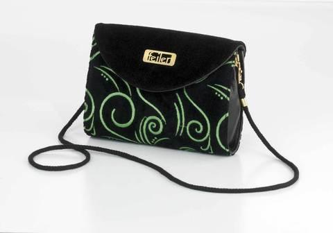 Элитная сумка-клатч шенилловая Opera ТА64 от Feiler