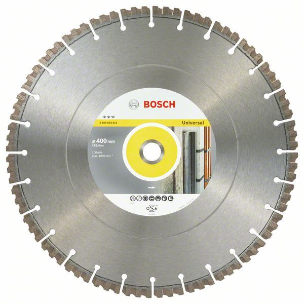 Алмазный диск Bosch Best for Universal 400х25,4 мм