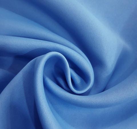 Портьерная ткань блэкаут голубая. Арт. GT6834-5