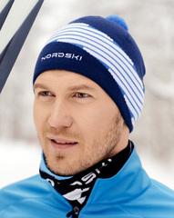 Лыжная шапка Nordski Line Jeans