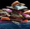 Элитная подушка декоративная Venezia красная от Roberto Cavalli