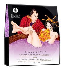 Соль для ванны SHUNGA Lovebath Ocean temptation, превращающая воду в гель - 650 гр. (650 гр)