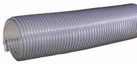 Воздуховод Tex PVC 500, D125 мм (1 метр) из ПВХ (поливинилхлорида)