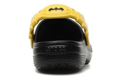 Сабо Крокс (Crocs) пляжные шлепанцы кроксы для мальчиков, цвет черный. Изображение 4 из 7.