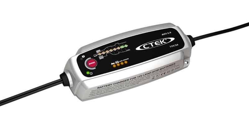 Зарядное устройство для 12В АКБ (8 этапов, 1,2‐160Aч) MXS 5.0