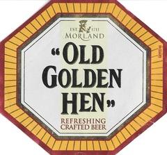 Пиво Old Golden Hen