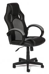 Кресло компьютерное Рейсер  (Racer GT) — черный/серый (36-6/12)