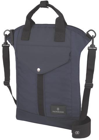 Сумка наплечная VICTORINOX Altmont™ 3.0 Slimline Tote 13'', синяя, нейлон Versatek™, 31x6x41 см, 7 л