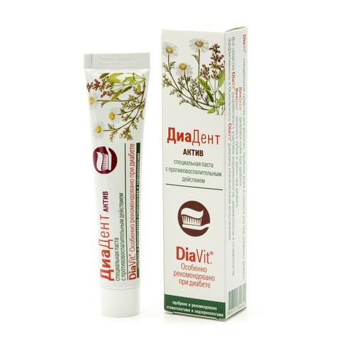 Зубная паста Диадент Актив