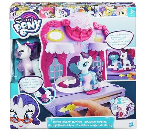 My Little Pony Friendship is Magic Rarity Fashion Runway