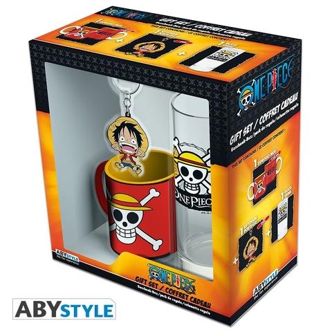 Подарочный набор One Piece (Кружка/Стакан/Брелок)