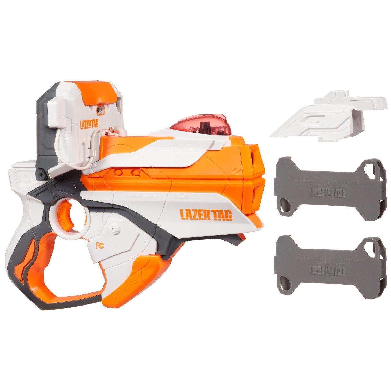 Lazer Tag Blaster White