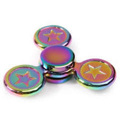 Fidget Toy Star Colorful Metal