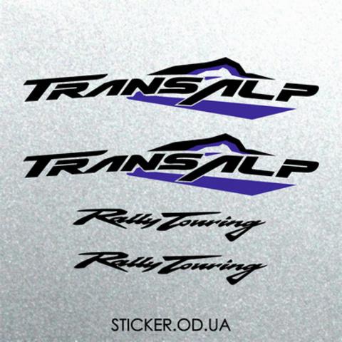 Набор виниловых наклеек на мотоцикл Honda Transalp xlv 650 2003 2004