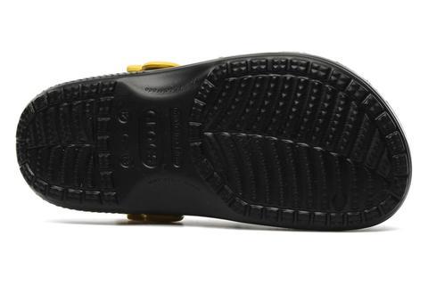 Сабо Крокс (Crocs) пляжные шлепанцы кроксы для мальчиков, цвет черный. Изображение 7 из 7.