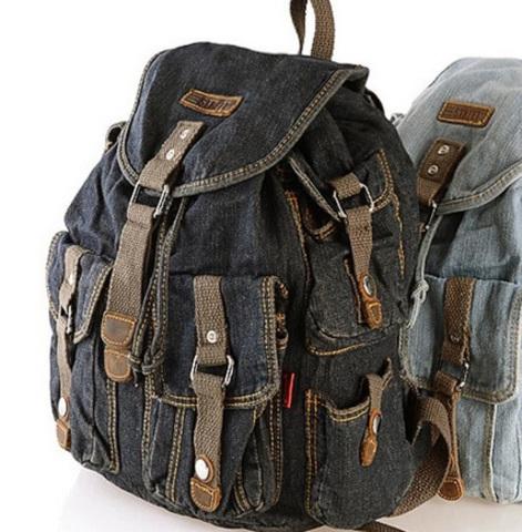 Рюкзак из джинсовой ткани Est. J Classic One