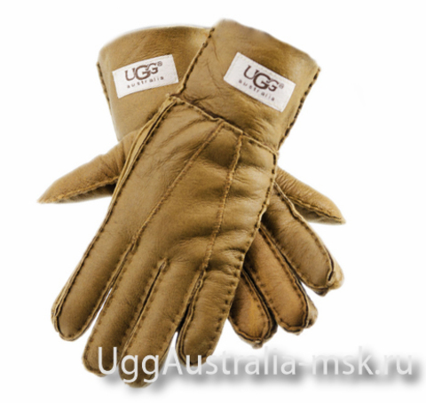 UGG Women's Glove Metallic Chestnut