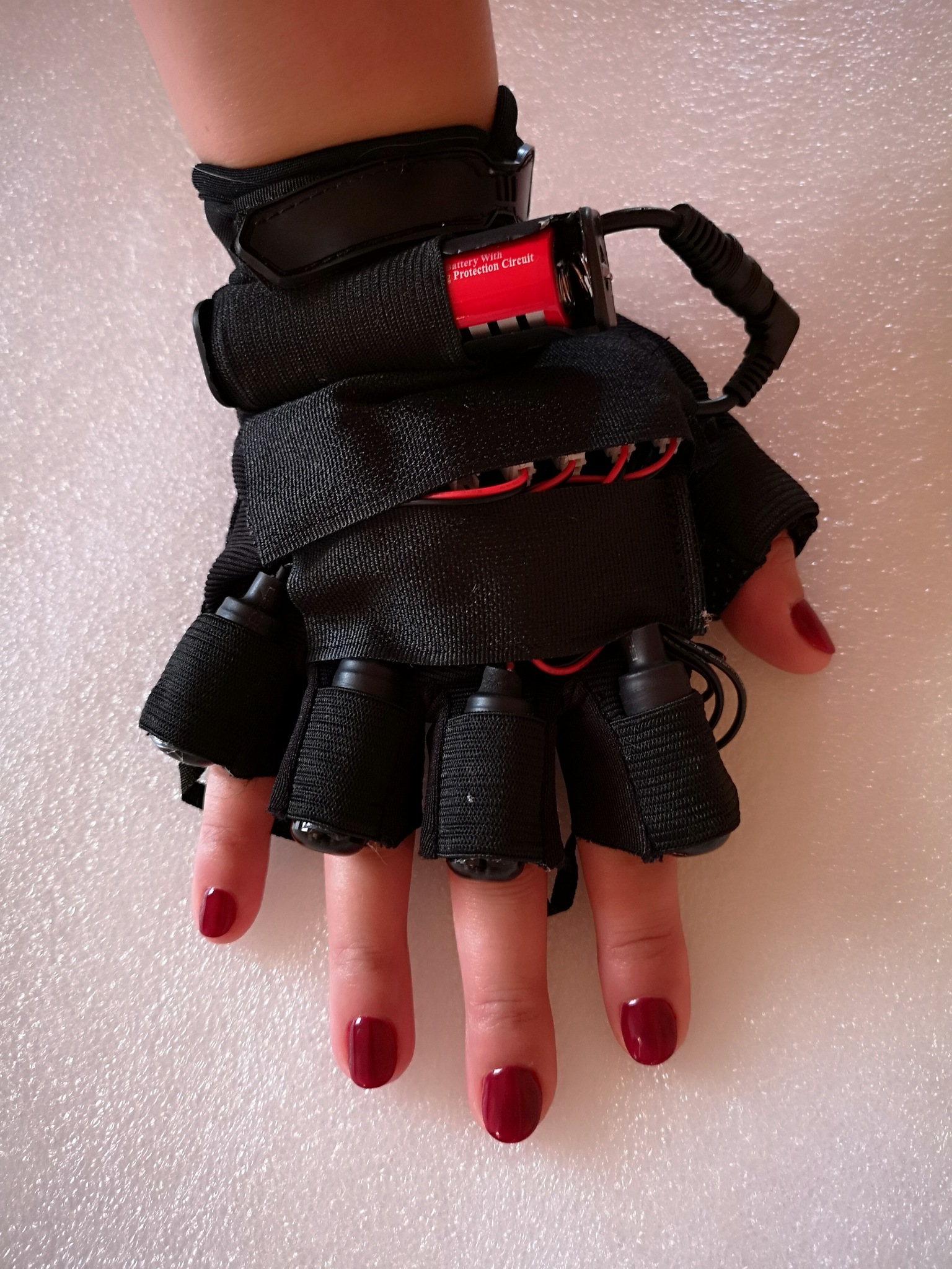 Red-Green Laser Gloves, foto 3