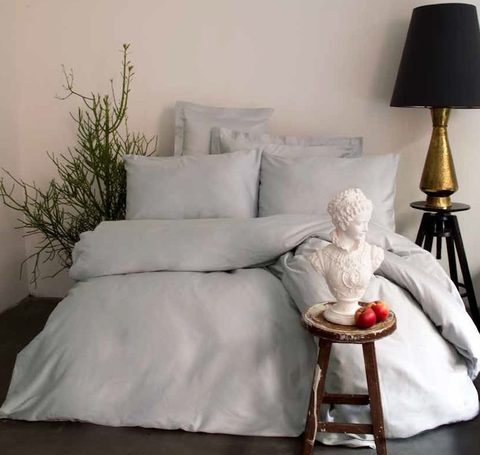 Постельное белье Issimo Home Simply Satin grey семейный