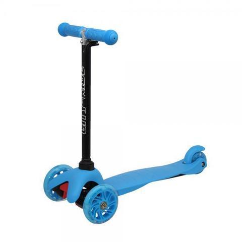 Самокат мини голубой City-Ride CR-S4-01LBL