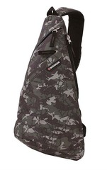 Рюкзак Wenger с одним плечевым ремнем, цвет камуфляж, 45х25х15 см, 7 л