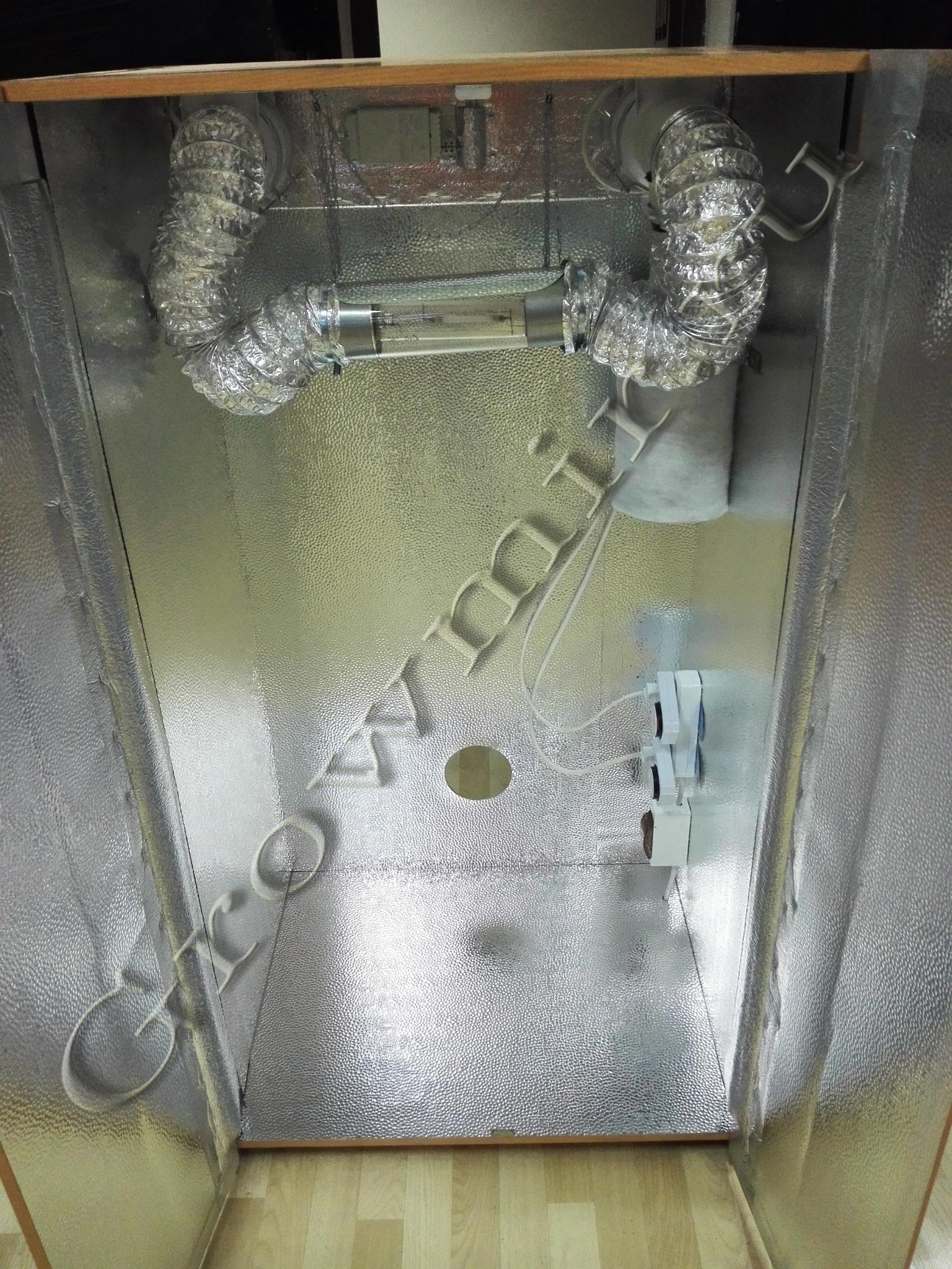 АНАФОЛ (150x80x62) Гроубокс (Growbox) для выращивания растений