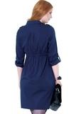 Платье 05529 синий