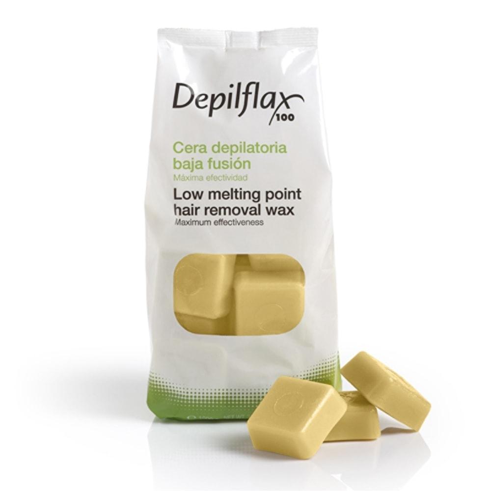Воск горячий в дисках Хлопок Depilflax , 1 кг Испания