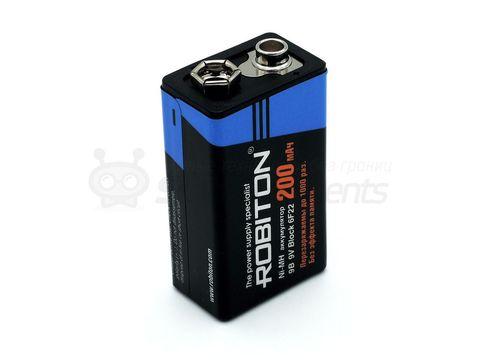 Аккумулятор 6f22 200mAh
