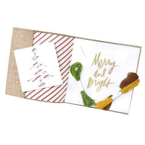 Набор для создания декабрьского дневника -  Heidi Swapp Winter Wonderland Album Kit