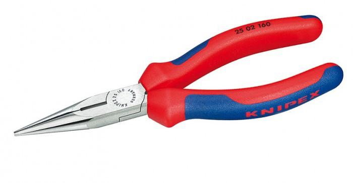 Длинногубцы 160 мм с режущими кромками  Knipex KN-2502160