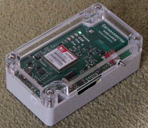 GSM сигнализатор наклона