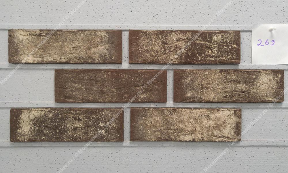 King Klinker - Smooth jazz (HF24), Old Castle, 240x71x10, NF - Клинкерная плитка для фасада и внутренней отделки