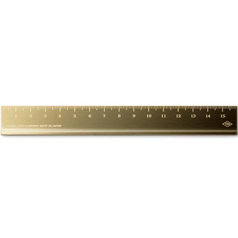 Линейка Traveler's Company (Midory) Brass Ruler (15 см)