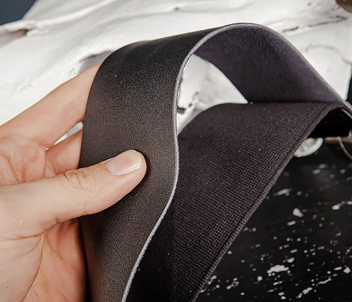 RAZ486 Двойной ремень для правки бритвы из кожи и текстиля фото 03