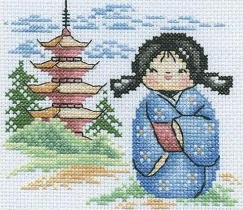 НМ-655 Японская куколка