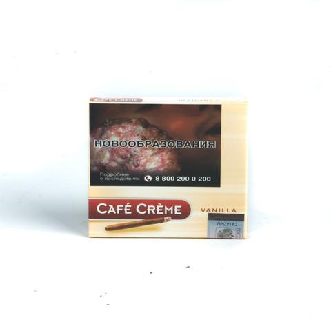 Сигариллы Cafе Creme Vanilla 10 шт