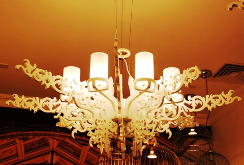 replica  Mansion chandelier lamp ( white )