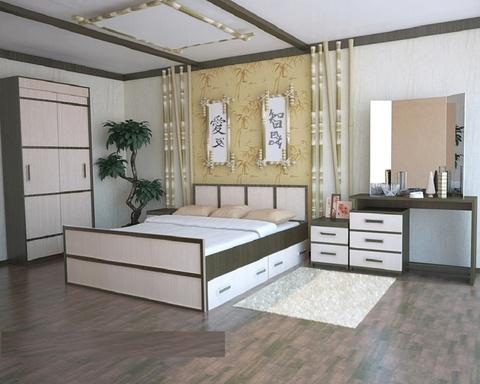 Спальня модульная Сакура-1
